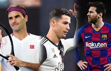 Ni Cristiano Ronaldo, ni Lionel Messi: Roger Federer es el deportista mejor pagado en el mundo