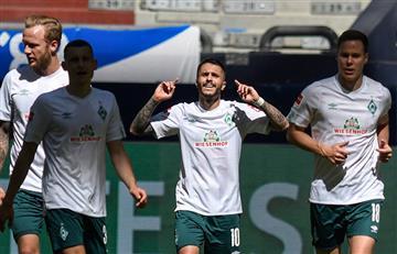 Werder Bremen, sin Claudio Pizarro, venció 1-0 a Schalke 04 por la Bundesliga