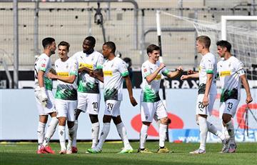 Borussia Monchengladbach goleó y se mete en la pelea de la Bundesliga