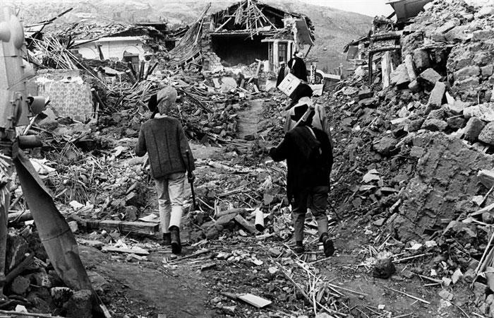 50 años después, Perú sigue sufriendo por el terremoto de 1970 (/FOTOTECA CARMEN ABAD Y ANA CORONADO). Foto: EFE
