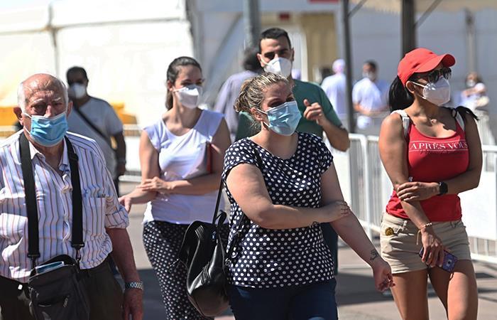 Nueva cifra de infectados para este 01 de junio. Foto: EFE