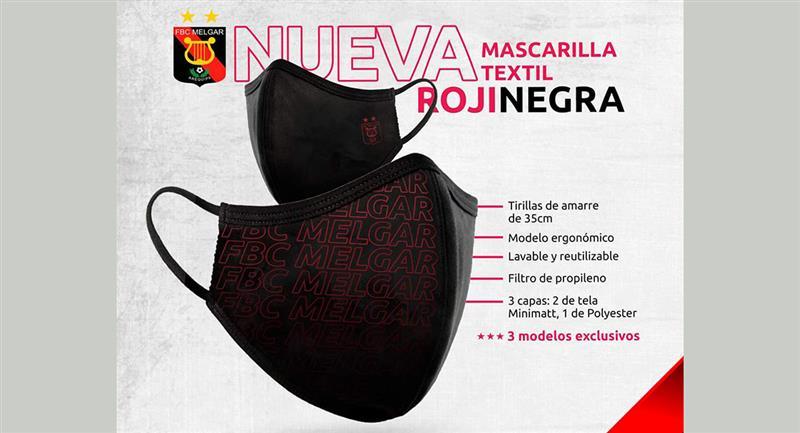 Melgar se animó a la venta de mascarillas para la ciudad de Arequipa. Foto: Club FBC Melgar