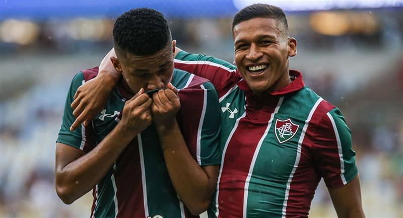 Fernando Pacheco llegó esta temporada a Fluminense de Brasil. Foto: Instagram - @fernandorivas_99