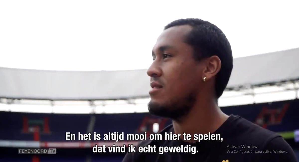 Renato Tapia dejó de ser jugador de Feyenoord. Foto: Captura Video Feyenoord