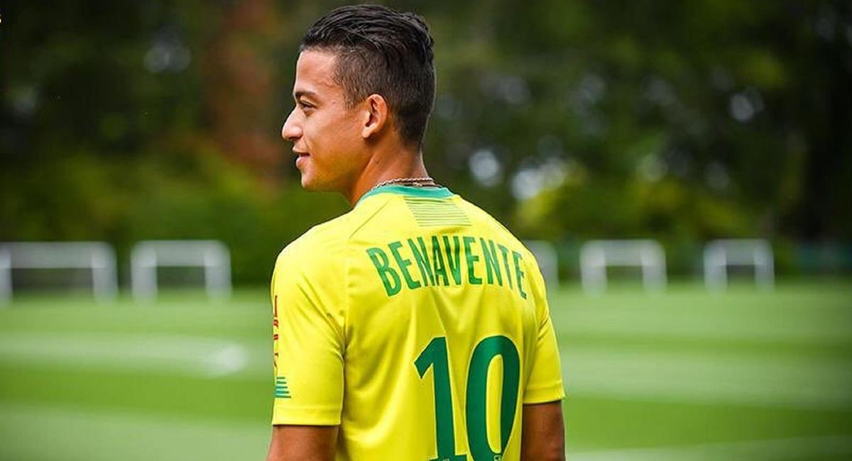Cristian Benavente deja al Nantes luego de una temporada. Foto: Andina