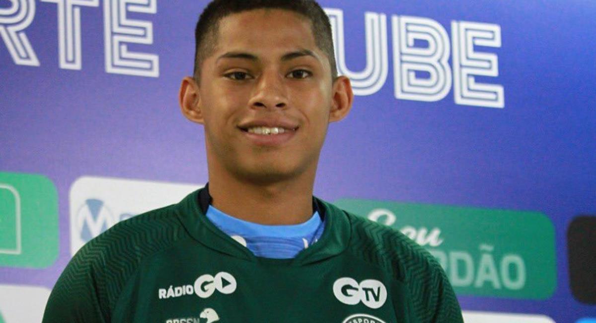 Kevin Quevedo salió goleador de Alianza Lima en el 2019. Foto: Facebook Club Goiás