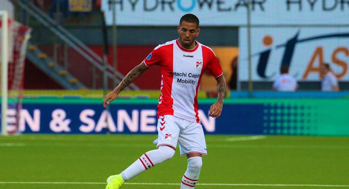 Sergio Peña juega en el FC Emmen de Países Bajos. Foto: EFE