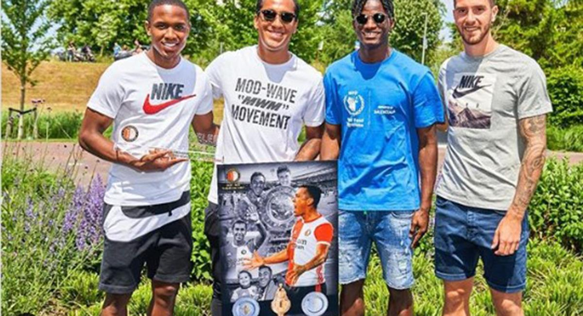 Renato Tapia no continuará en Feyenoord. Foto: Instagram Renato Tapia