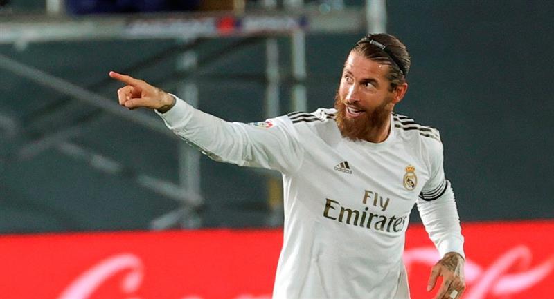 El defensa del Real Madrid, Sergio Ramos. Foto: EFE