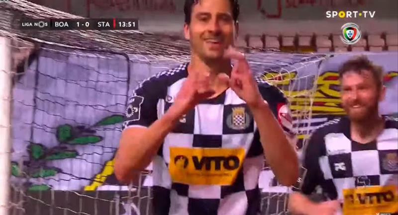Boavista sumó de a tres en Portugal. Foto: Youtube (VSPORTS - Liga NOS)