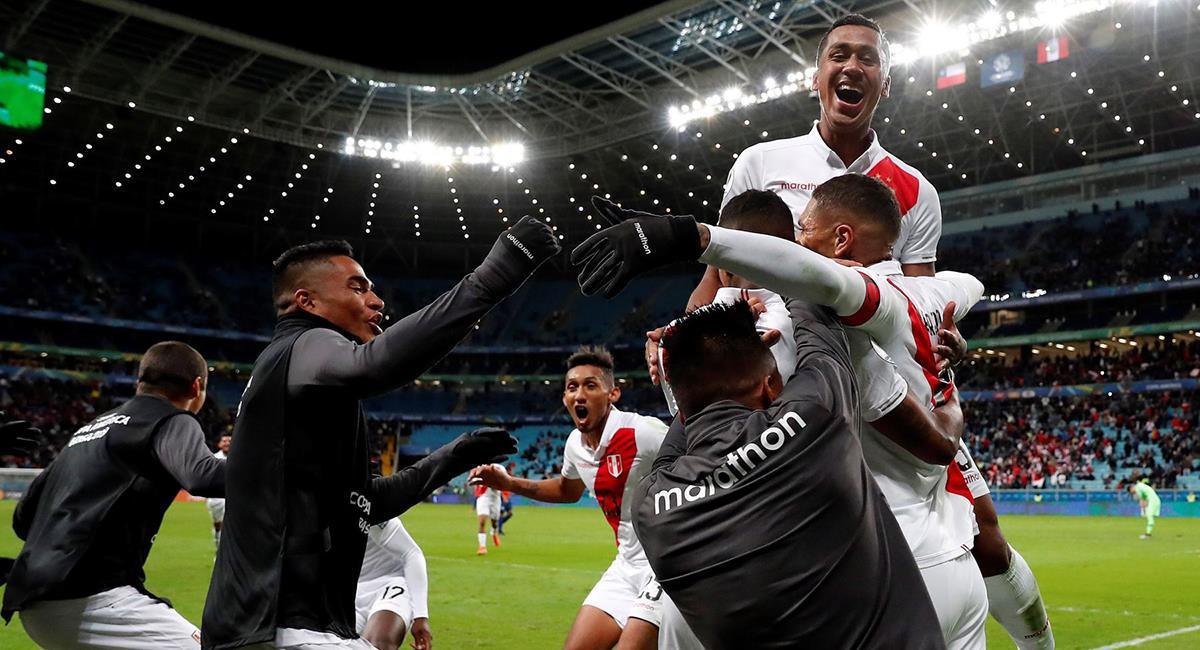 Perú clasificó a la gran final de la Copa América 2019, venciendo a Chile. Foto: Andina