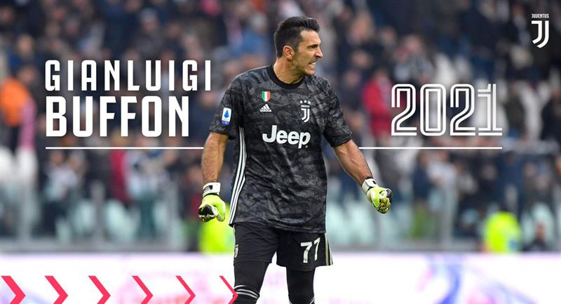 El experimentado Gianluigi Buffon renovó con Juventus. Foto: Facebook (@JuventusEs)