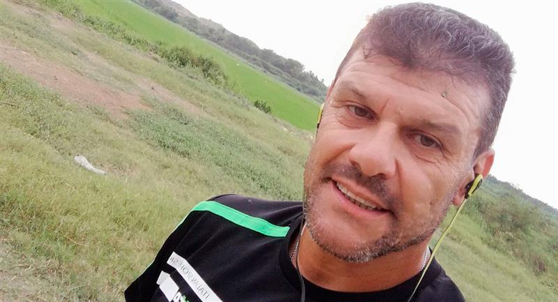 Gustavo Roverano es asistente técnico en el Montevideo Wanderers de Uruguay. Foto: Twitter (@gustavoroverano)