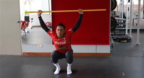Christian Cueva inició sus entrenamientos en la Videna