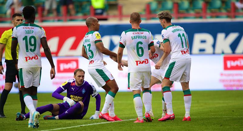 Lokomotiv Moscú logró un empate de manera agónica. Foto: Club Lokomotiv Moscú