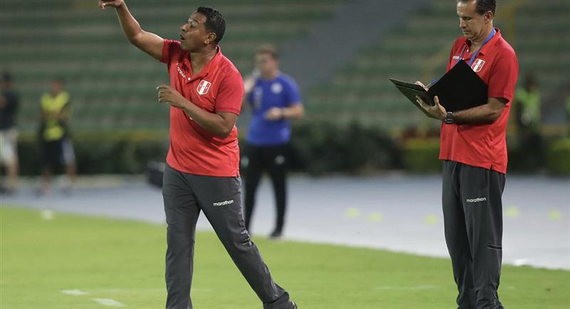 Nolberto Solano es asistente técnico de Ricardo Gareca. Foto: Andina