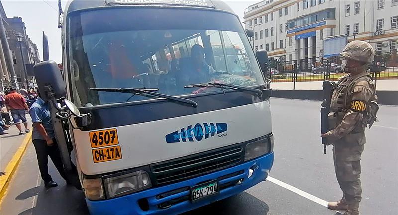 Transportistas recibirán subsidio del Gobierno. Foto: Andina