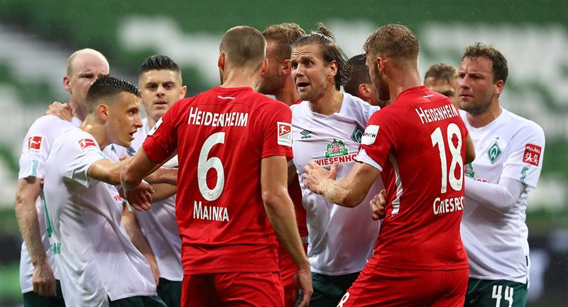 Werder Bremen y Heidenheim se verán las caras nuevamente el 6 de julio. Foto: EFE