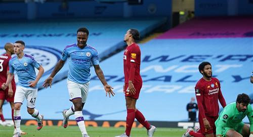 Liverpool cayó goleado por el Manchester City en la Premier League