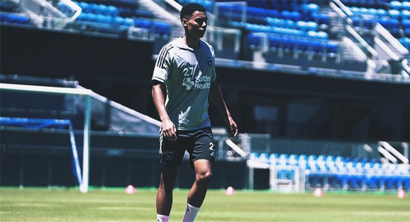 Marcos López llegó a la MLS a inicios del 2019. Foto: Club San José Earthquakes