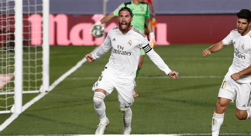 Real Madrid vence al Getafe y es líder único en LaLiga