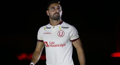 Universitario: Luis Urruti es uno de los jugadores que dio positivo a la Covid-19