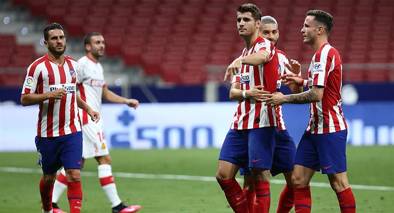Atlético de Madrid consiguió tres nuevos puntos en LaLiga. Foto: Twitter @Atleti