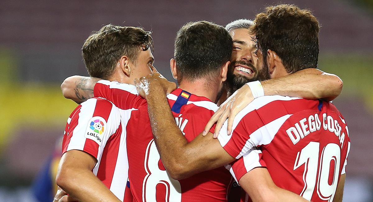 Atlético de Madrid se mide ante el Mallorca. Foto: Twitter Atlético Madrid