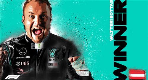 Fórmula 1: Valtteri Bottas se llevó el Gran Premio de Austria (VIDEO)