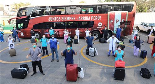 Selección Peruana: Bus oficial de la