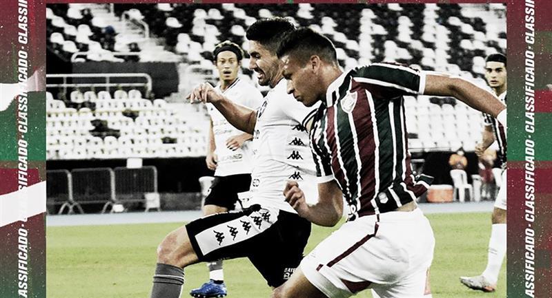 Fernando Pacheco sumó minutos en la semifinal contra Botafogo. Foto: Club Fluminense