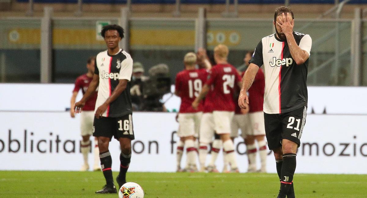 AC Milan dio vuelta al marcador y goleó ante Juventus. Foto: EFE