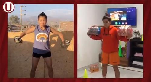 Universitario: plantel femenino inició sus entrenamientos en casa de cara a la Libertadores
