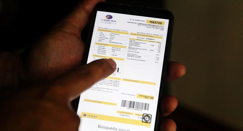 Bono Electricidad equivale a 160 soles para cubrir gastos de luz. Foto: Andina