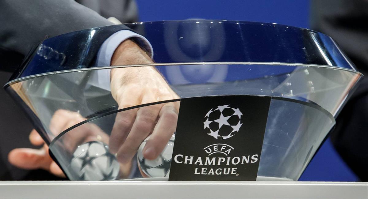 Sorteo de Champions League 19/20. Foto: EFE