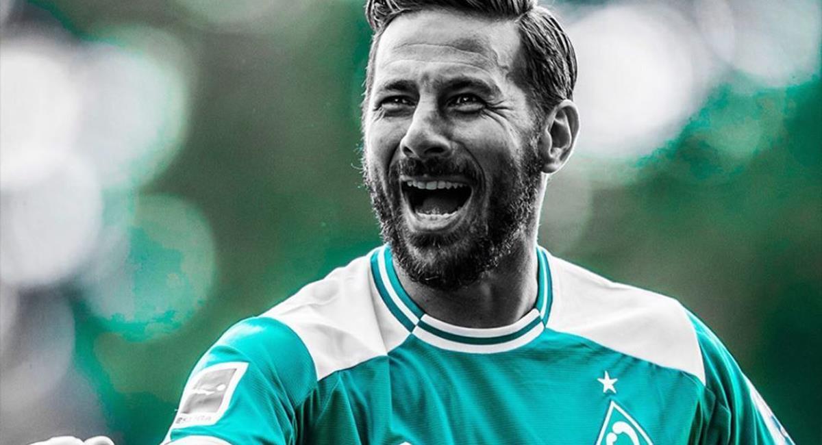 Claudio Pizarro se retiró a los 41 años de edad. Foto: Twitter Werder Bremen