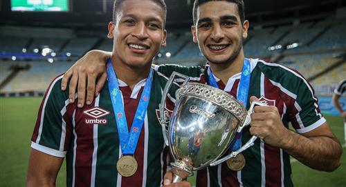 Fernando Pacheco feliz con el título del Campeonato Carioca