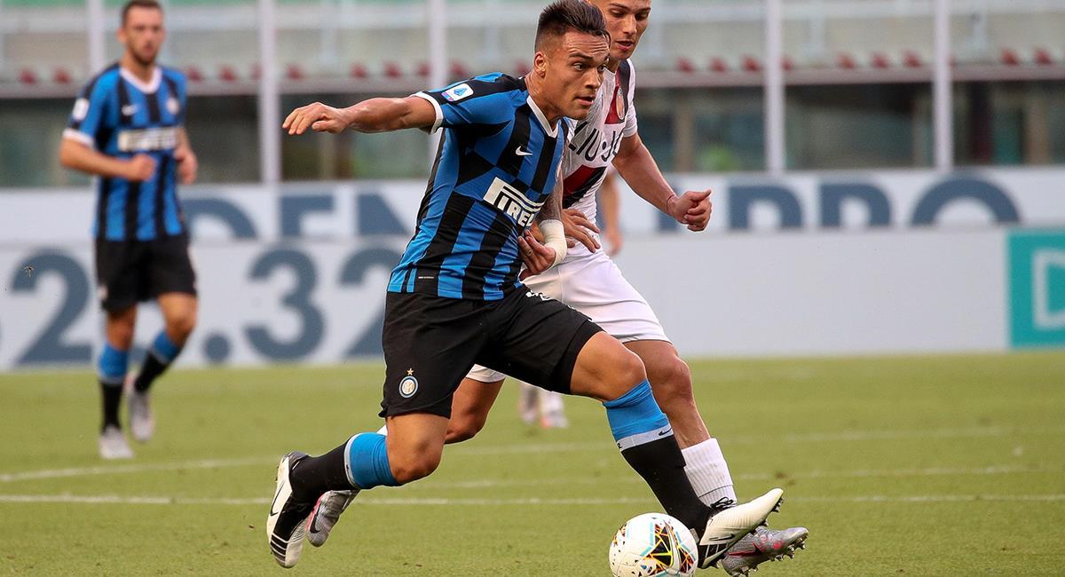 Lautaro Martínez tendrá actividad con el Inter. Foto: EFE
