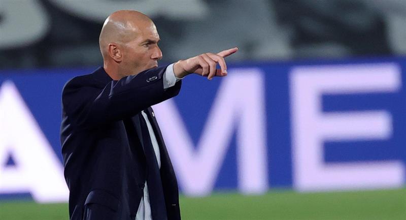 Zidane y su opinión tras la recta fina de LaLiga. Foto: EFE