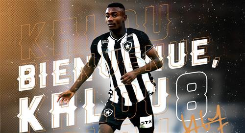 Alexander Lecaros: Botafogo anunció llegada de Salomon Kalou