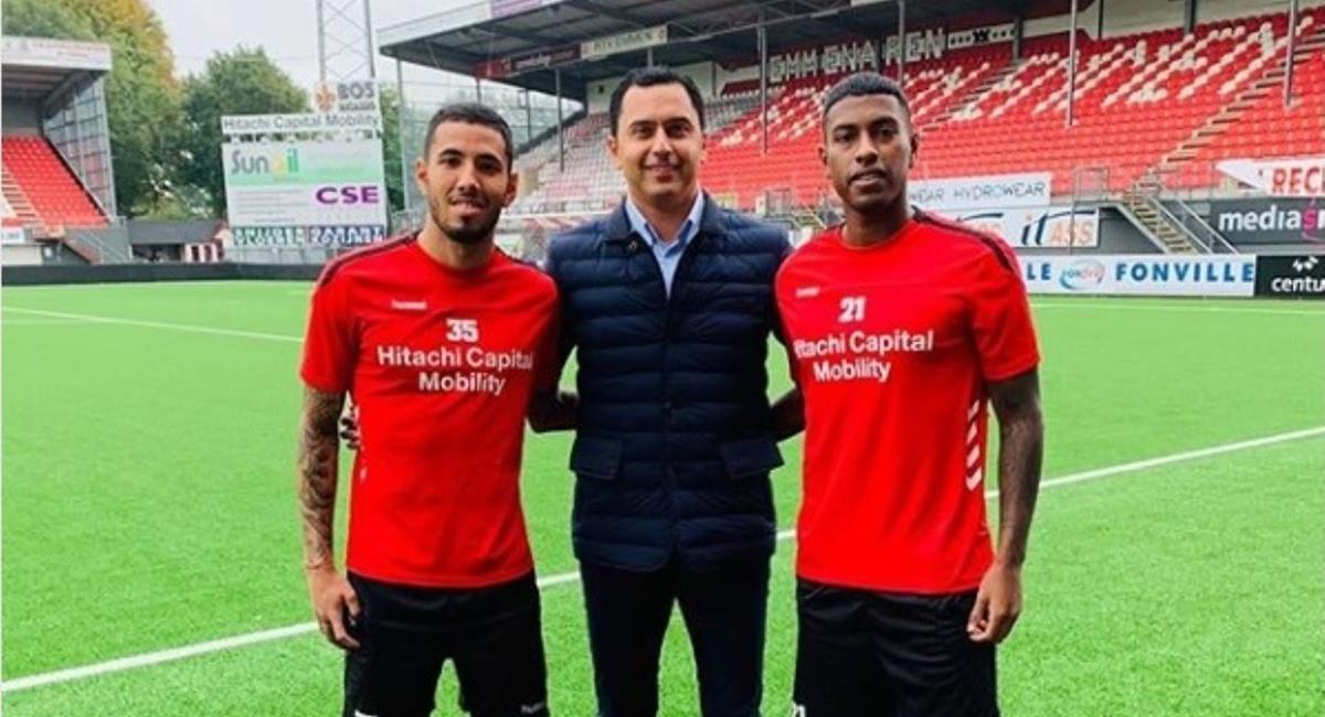 Sergio Peña y Miguel  Araujo se quedan en el FC Emmen. Foto: Andina