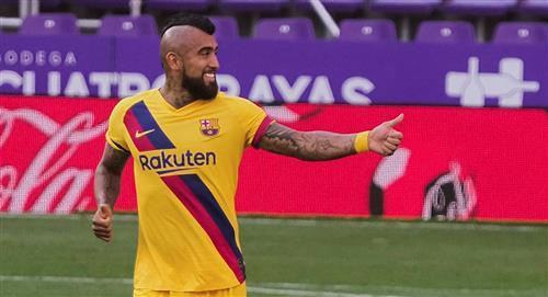 Barcelona venció a Valladolid 1-0 y no le pierde los pasos a Real Madrid