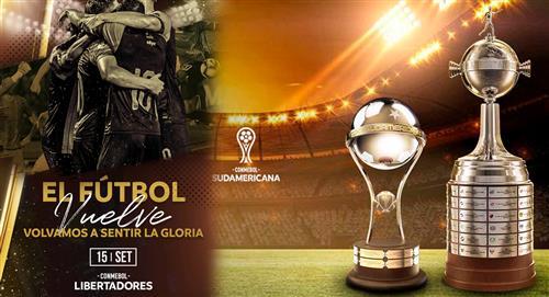 Copa Libertadores volverá el 15 de setiembre y la Sudamericana el 27 de octubre