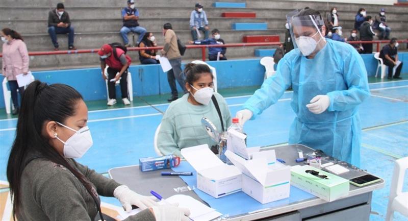 Nueva cifra de infectados en el Perú para este 11 de julio. Foto: Andina