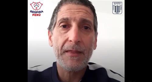 Alianza Lima se une a campaña 'Respira Perú'