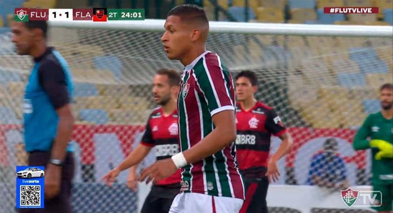 Fernando Pacheco ingresó a los 69 minutos. Foto: Youtube