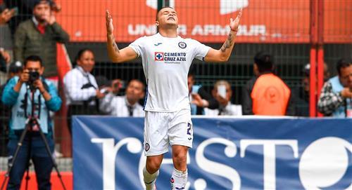 Cruz Azul golea al América en la Copa por México