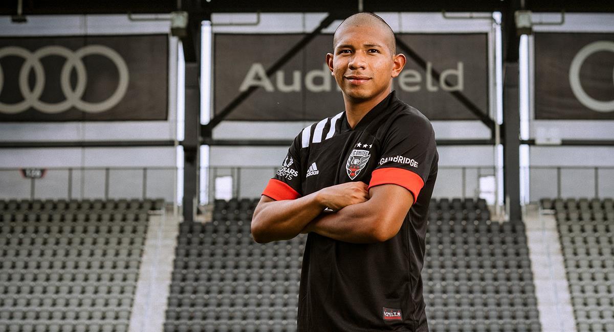 Edison Flores volverá al fútbol en la MLS. Foto: Club DC United