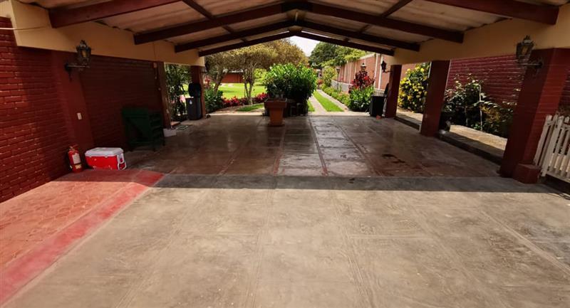 Jugadores se hospedarán en estas instalaciones de Cieneguilla. Foto: Prensa Cienciano