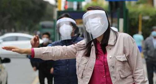 Perú: uso de protectores faciales será obligatorio, sino habrá sanción